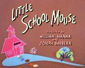 Johann Mouse movie scenes Little School Mouse title JPG