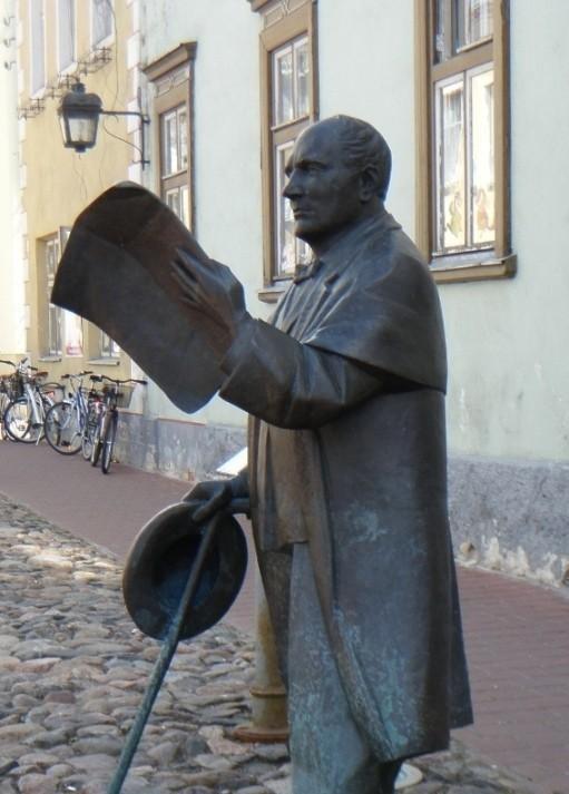Johann Voldemar Jannsen Skulptur von Johann Voldemar Jannsen Estland