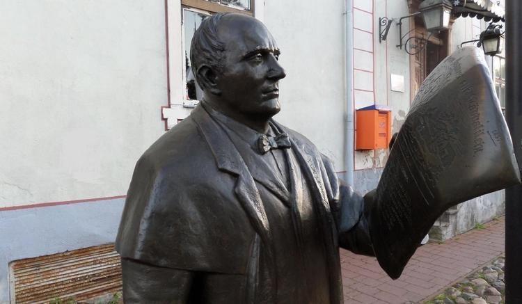 Johann Voldemar Jannsen Sculpture of Johann Voldemar Jannsen Estonia
