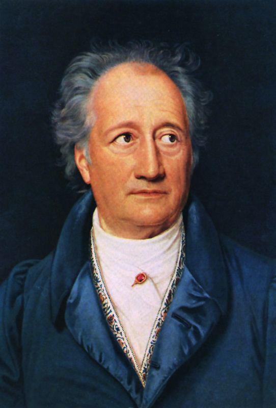 Johann Wolfgang von Goethe Johann Wolfgang von Goethe Wikipedia Eniclopedia liber