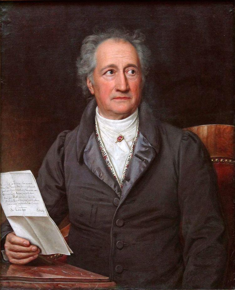 Johann Wolfgang von Goethe httpsuploadwikimediaorgwikipediacommons00