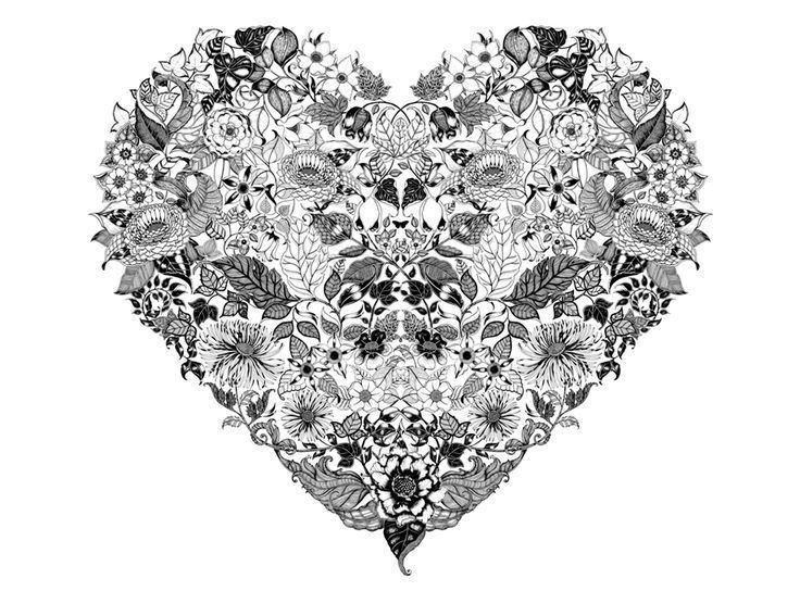 Johanna Basford My Inky Wonderland on Pinterest Ink Illustrations