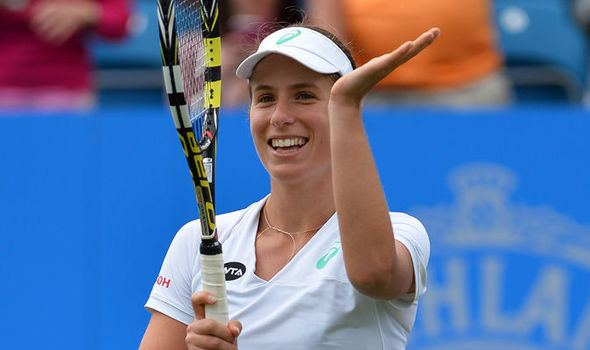 Johanna Konta Johanna Konta shows Wimbledon form with win over Ekaterina