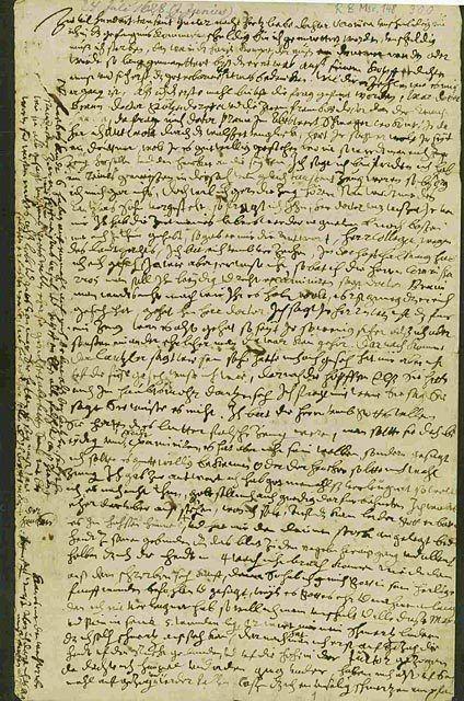 Johannes Junius Bamberger Hexenwochen Der Brief des Johannes Junius