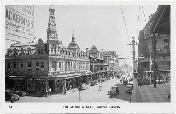 Johannesburg in the past, History of Johannesburg
