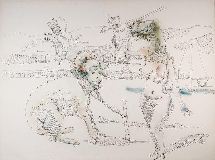 John Altoon John Altoon at LACMA Art Talk KCRW