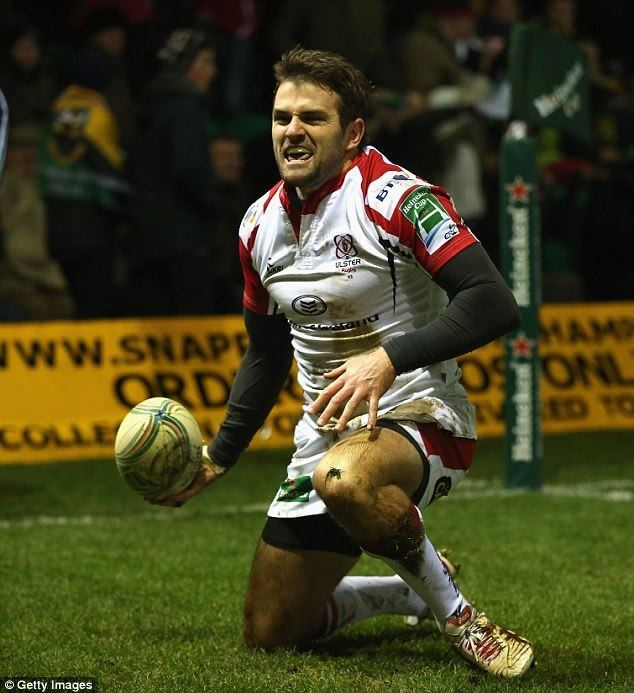 John Andrew (rugby league) Dragons 1727 Ulster John Andrew try helps claim win Daily Mail