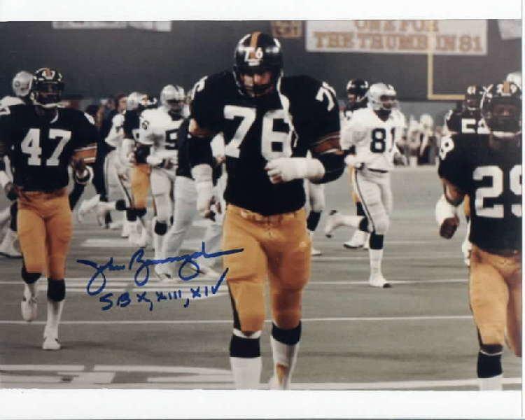 John Banaszak Collectors World Collect Pittburgh Steelers Penguins and