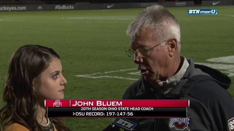 John Bluem Coach John Bluem Interview Ohio State Mens Soccer YouTube