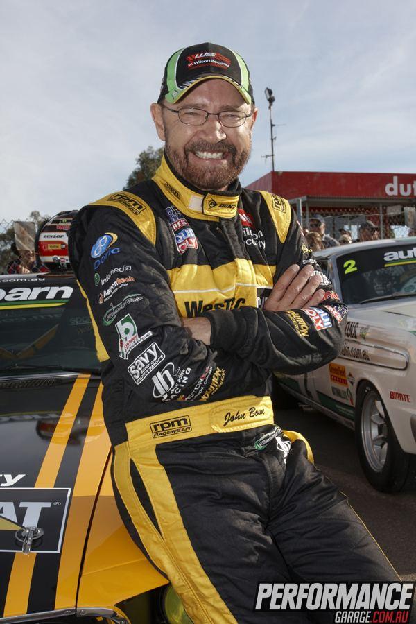 John Bowe (racing driver) CHAMPION JOHN BOWE INTERVIEW Performance Garage V8