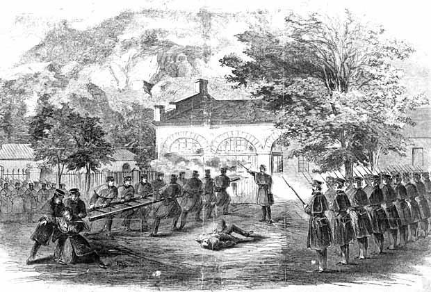 John Brown's raid on Harpers Ferry httpsuploadwikimediaorgwikipediacommons44