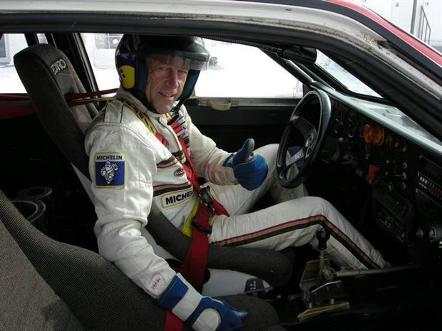 John Buffum Feature Flashback John Buffum in a 1980s Audi Quattro
