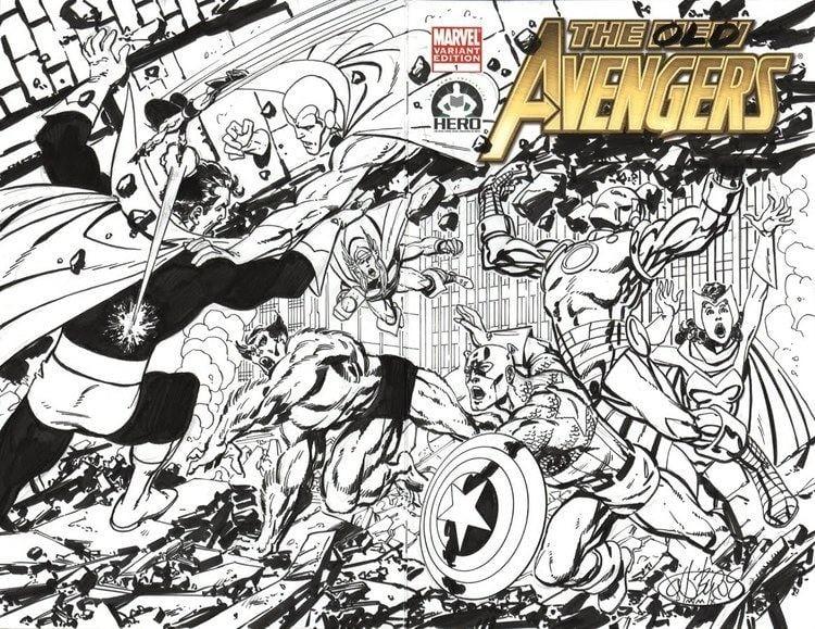 John Byrne (comics) John Byrne Draws New Avengers Or Not Bleeding Cool
