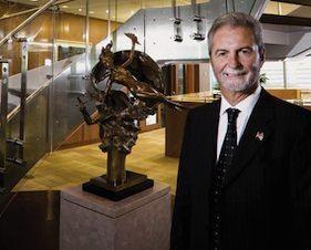 John Calamos John Calamos Pilots His Own Jets and the Skies over the Global