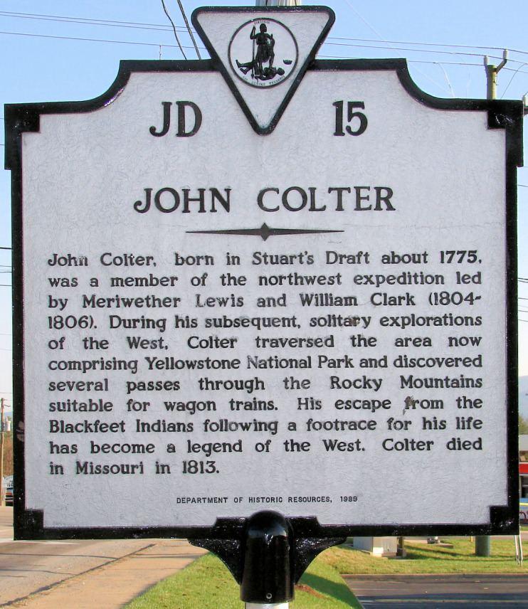 John Colter John Colter Wikipedia