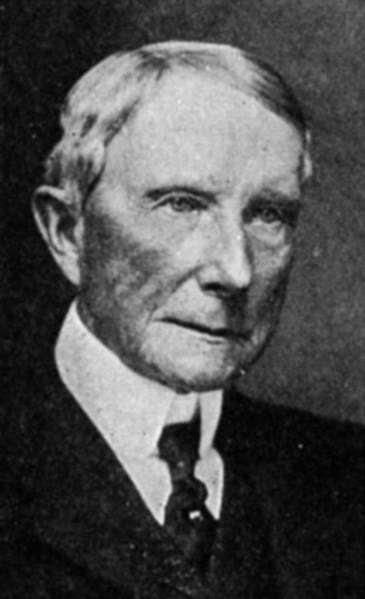 John D. Rockefeller John D Rockfeller 18391937