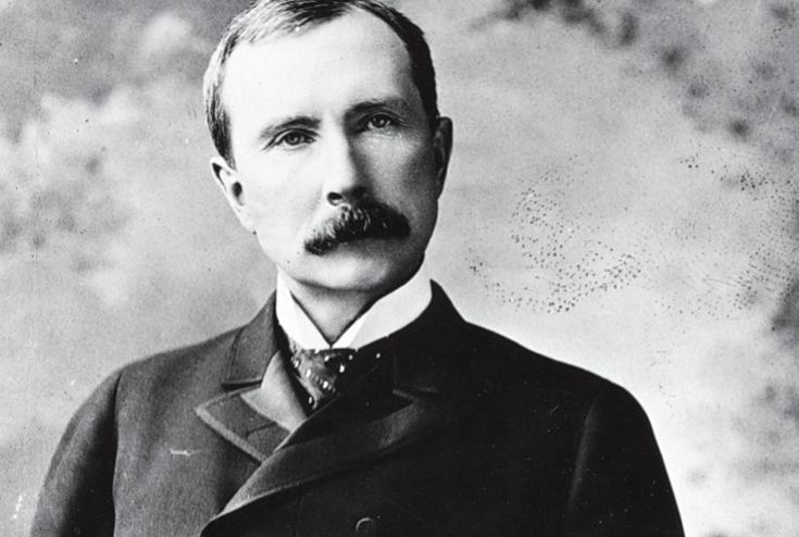John D. Rockefeller John D Rockefeller was born on July 8 1839 in Richford