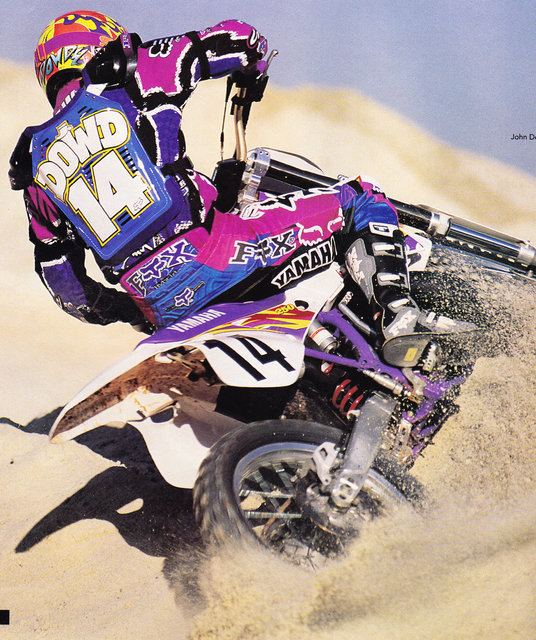 John Dowd (motocross) By request here are my favorite pics of the Junkyard Dog