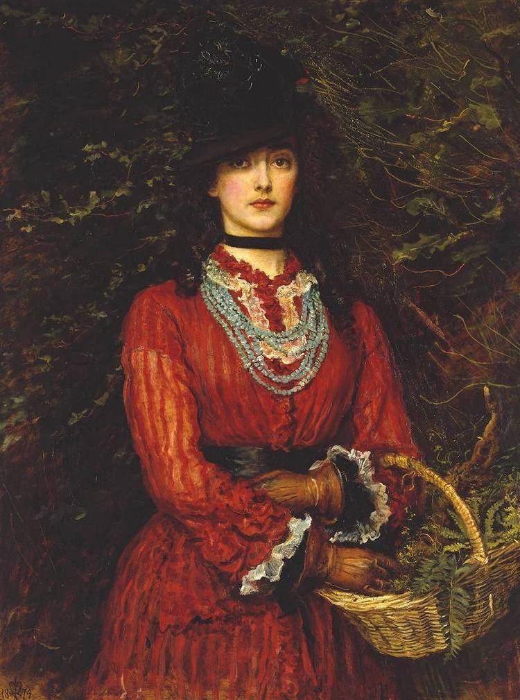 John Everett Millais Millais John Everett Fine Arts 19th c The Red List