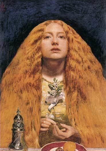 John Everett Millais BridesmaidLjpg