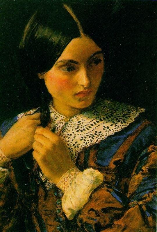 John Everett Millais Beauty John Everett Millais WikiArtorg