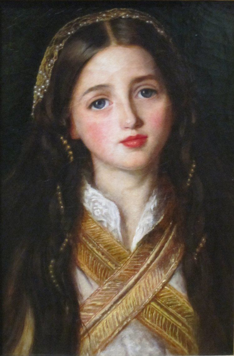 John Everett Millais FilePortrait of Alice Gray by John Everett Millais Getty