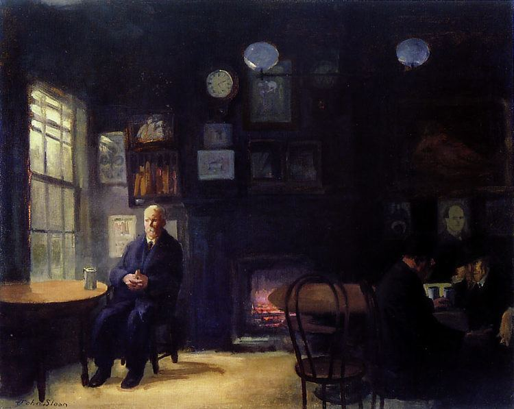 John French Sloan John French Sloan The McSorley39s Bar Paintings Art Out