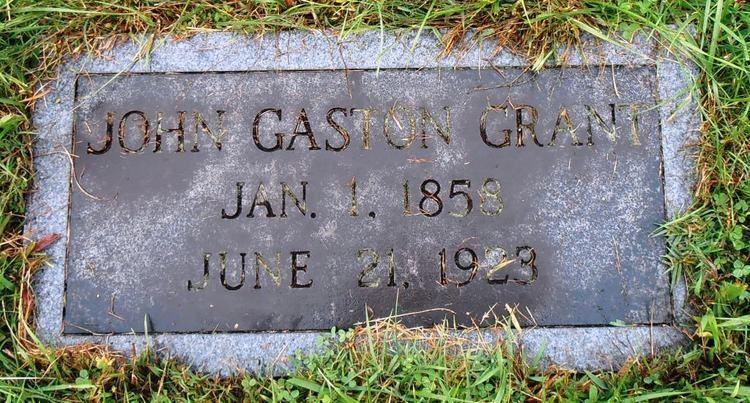 John Gaston Grant John Gaston Grant 1858 1923 Find A Grave Memorial