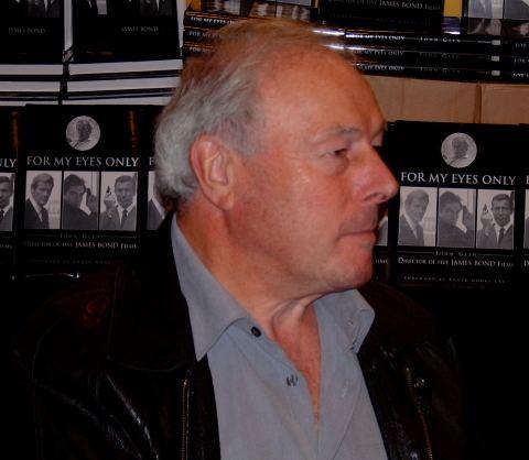 John Glen (director) James Bond Exhibition