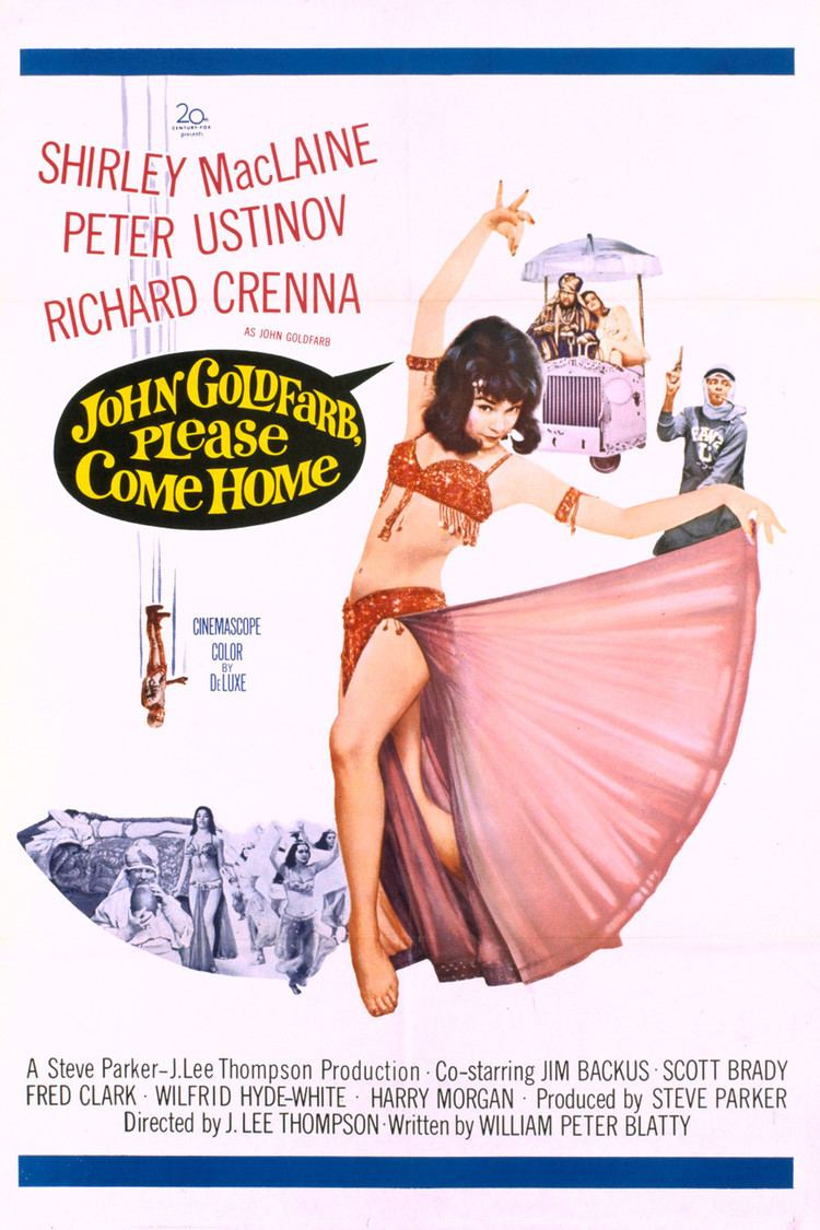 John Goldfarb, Please Come Home! wwwgstaticcomtvthumbmovieposters284p284pv