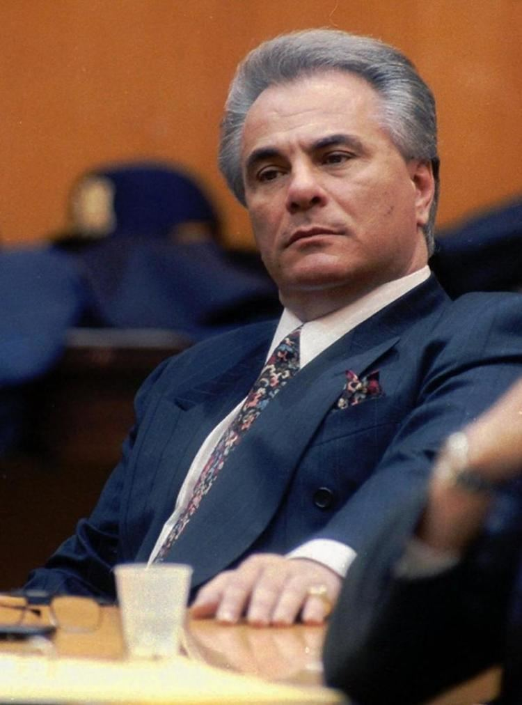 John Gotti Five Families of New York City Longtime Gambino captain
