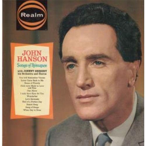 John Hanson (singer) John Hanson Records LPs Vinyl and CDs MusicStack