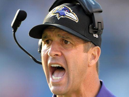 John Harbaugh BOSS Sports Ravens Coach John Harbaugh Supports Trump in Building