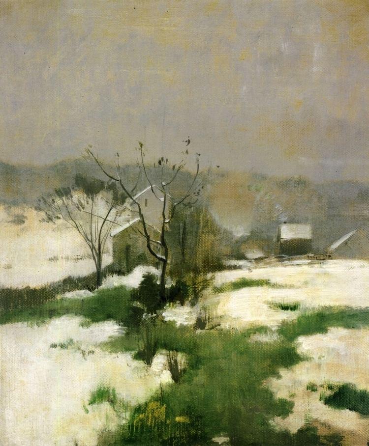 John Henry Twachtman An Early Winter John Henry Twachtman WikiArtorg