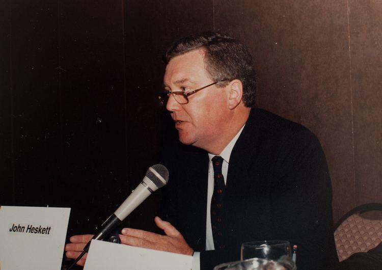 John Heskett Clive Dilnot blogs about his friend the design historian John