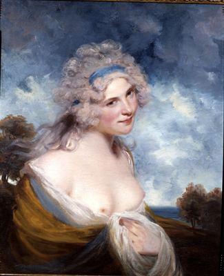 John Hoppner Philip Mould Historical Portraits Lady as a Bacchante