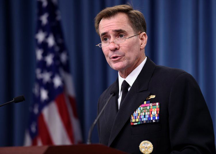 John Kirby (Canadian politician) Rear Adm John Kirby Bio News Photos Washington Times