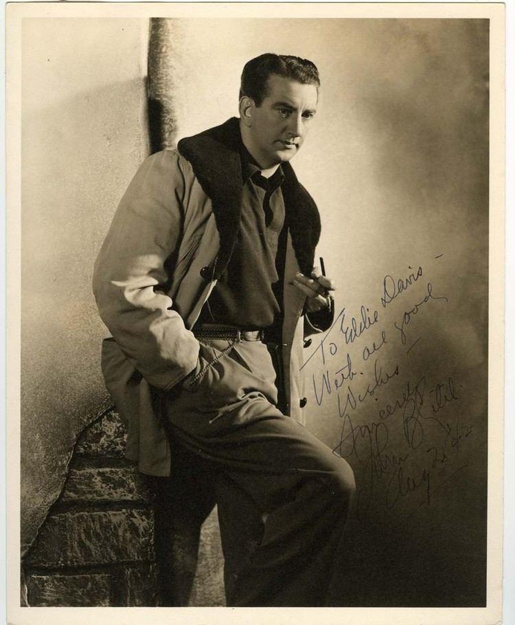 John Litel John Litel Autographed Photo Actor Autographs