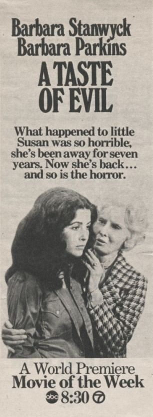 John Llewellyn Moxey A Taste of Evil TV Movie USA 1971 Director John Llewellyn Moxey