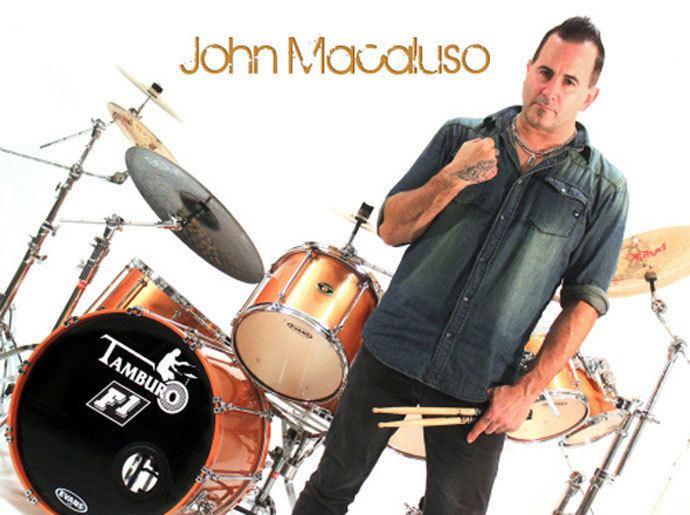 John Macaluso DRUMSET MAG John Macaluso F1