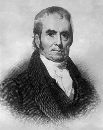 John Marshall John Marshall chief justice of United States Britannicacom