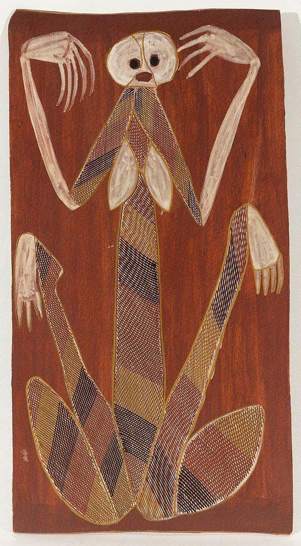 John Mawurndjul Yawkyawk 1985 by John Mawurndjul The Collection
