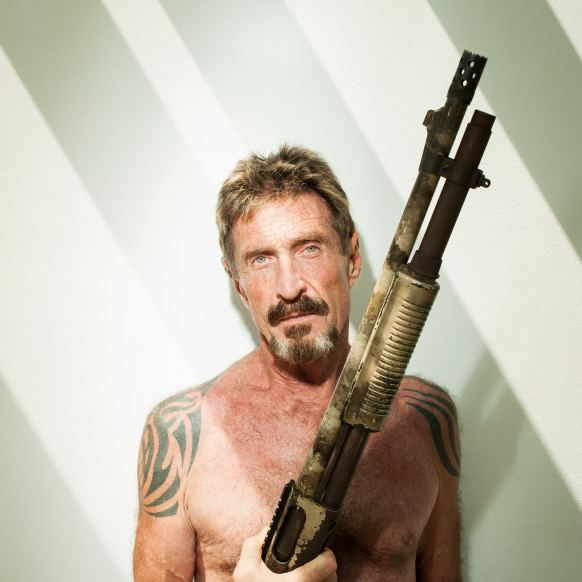 John McAfee You Know What This Presidential Race Needs John McAfee