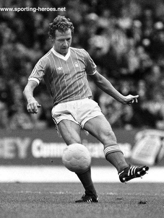 John McGovern (footballer) John McGOVERN League appearances for Forest Nottingham Forest FC