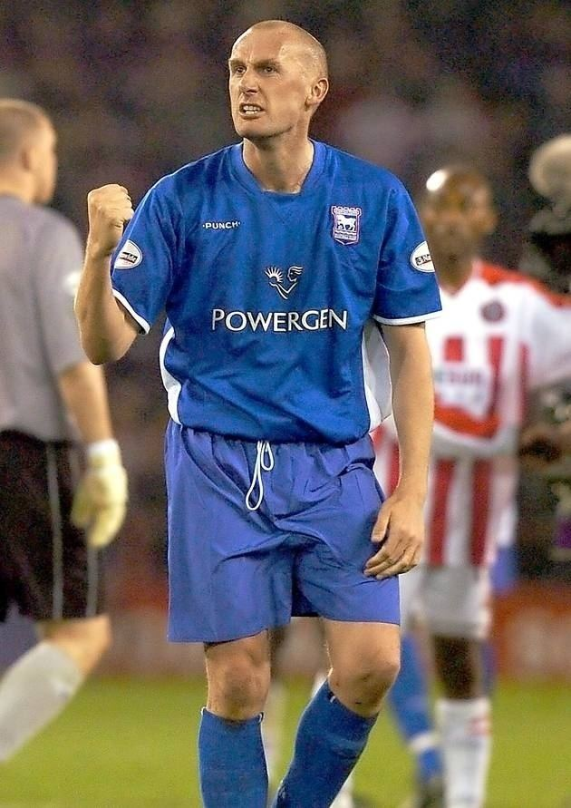 John McGreal Stylish John McGreal could have played for England Ipswich Town FC