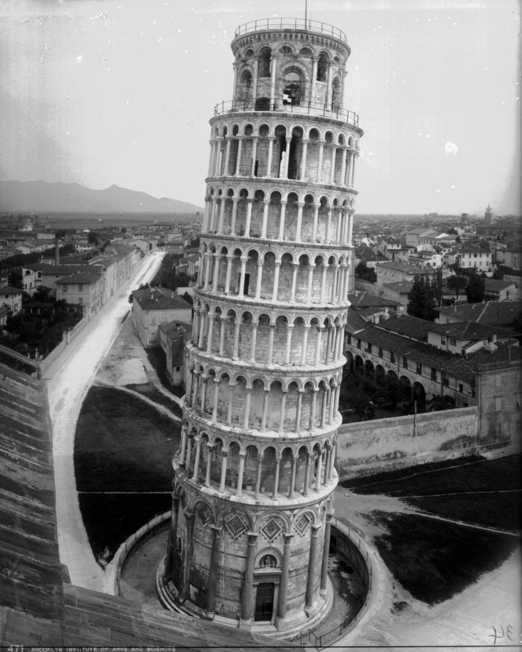 John McKecknie Campanile Leaning Tower Pisa Italy by John McKecknie 1895