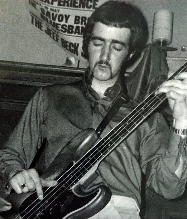 John McVie John McVie with John Mayall39s Bluesbreakers 1967