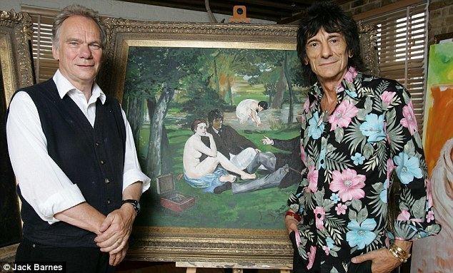 John Myatt John Myatt The former art forger is using celebrities as models to