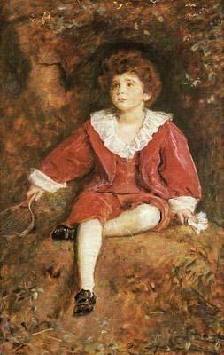 John Neville Manners Portrait of John Neville Manners Millais Art Print Canvas