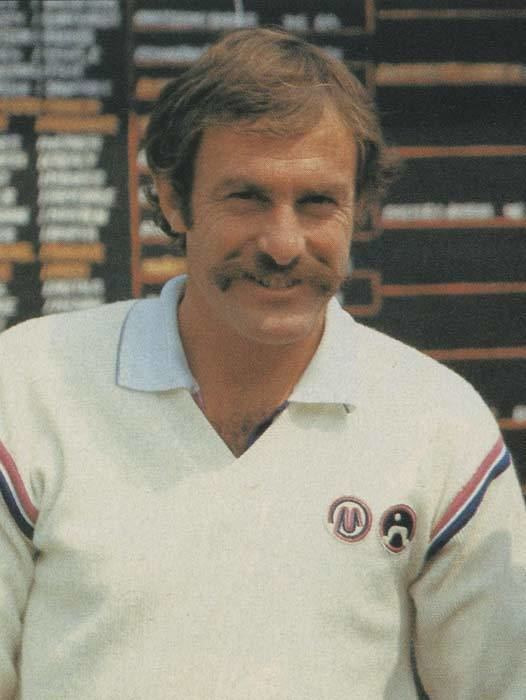 John Newcombe John Newcombe wearing his own brand Maggia 80stenniscom